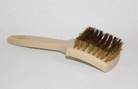 Brass White Wall Brush - flywheelnw.com