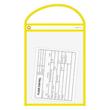 Repair Order/Work Ticket Holders (Clear w/Neon Edges)