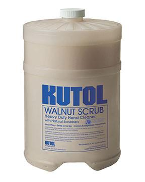 Bulk Gallon Soap - Walnut Scrub w/ Natural Scrubbers - flywheelnw.com