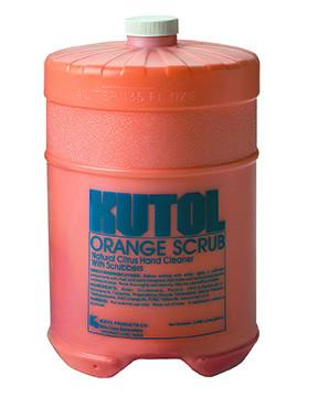 Bulk Gallon Soap - Orange Scrub w/ Pumice - flywheelnw.com