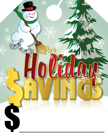 Holiday $avings - Flywheelnw.com