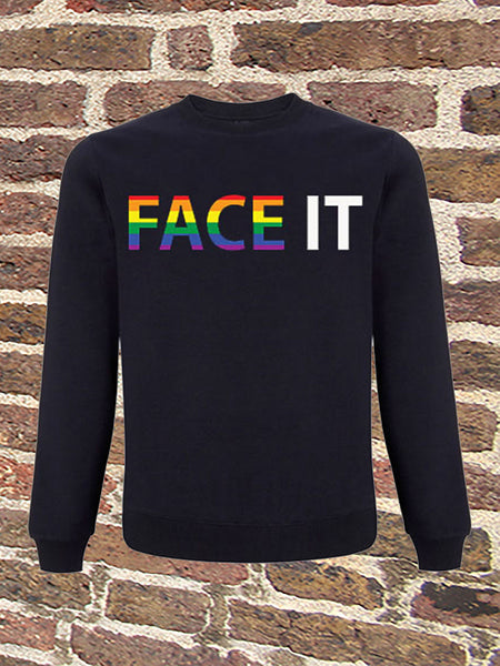 SWEATER - Face It (Pride)
