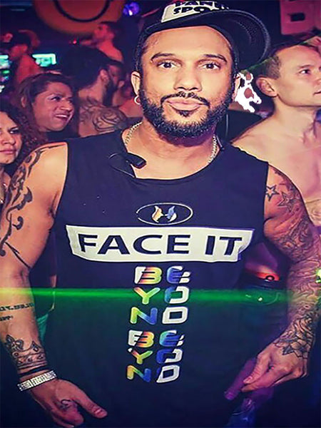 Tank Top (Distressed) - Face It MMC x Beyond Club Collab