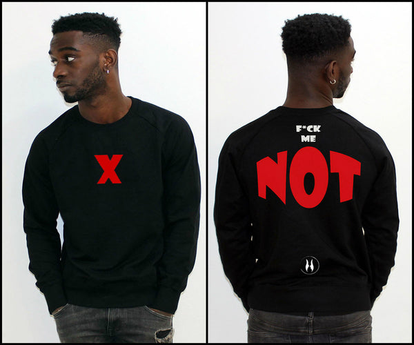 SWEATER X - F*ck Me NOT