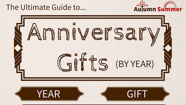 Anniversary Gifts (By Year)