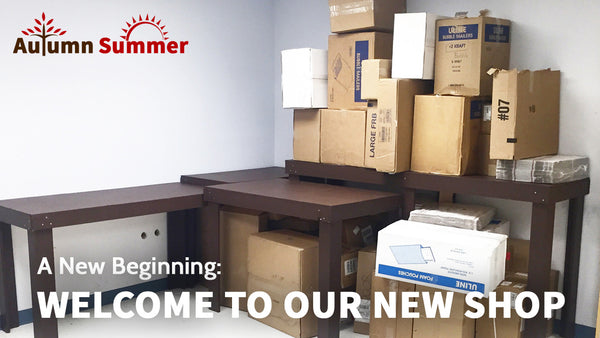 A New Beginning: Our New Shop!