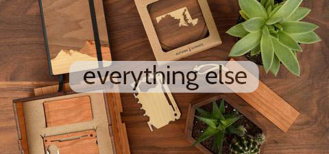 Custom Wooden Corporate Gifts by Autumn Woods Collective