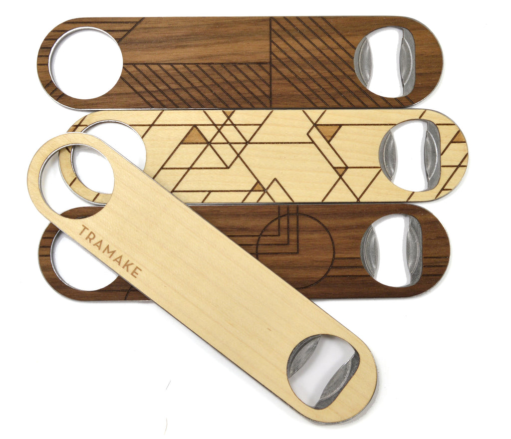 white label private design bottle opener wood product manufacturing