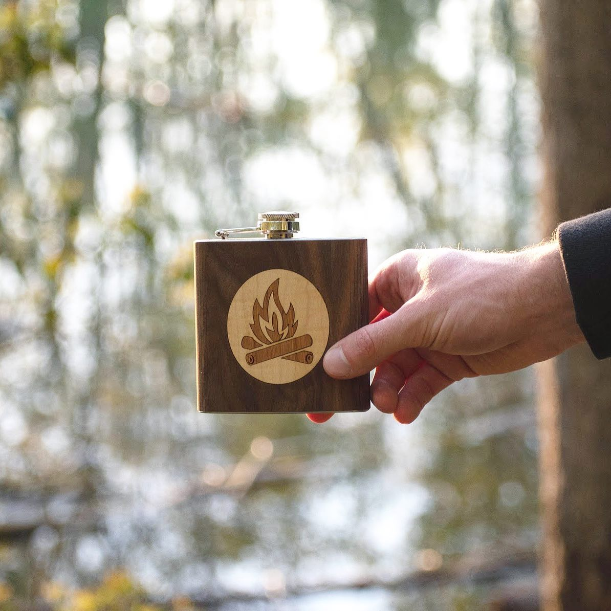 Campfire Flask - Autumn Woods Co.