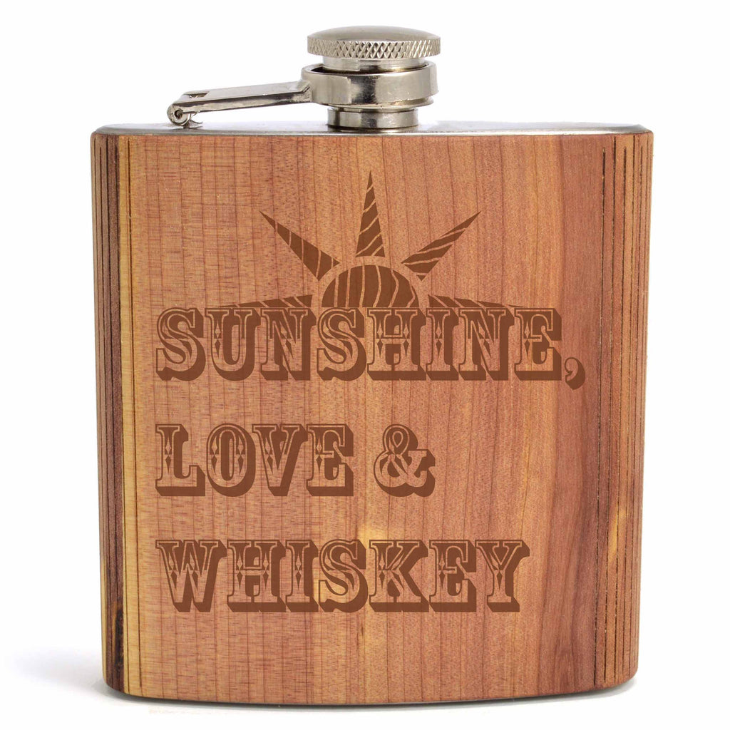 Custom Flask - Autumn Woods Co.