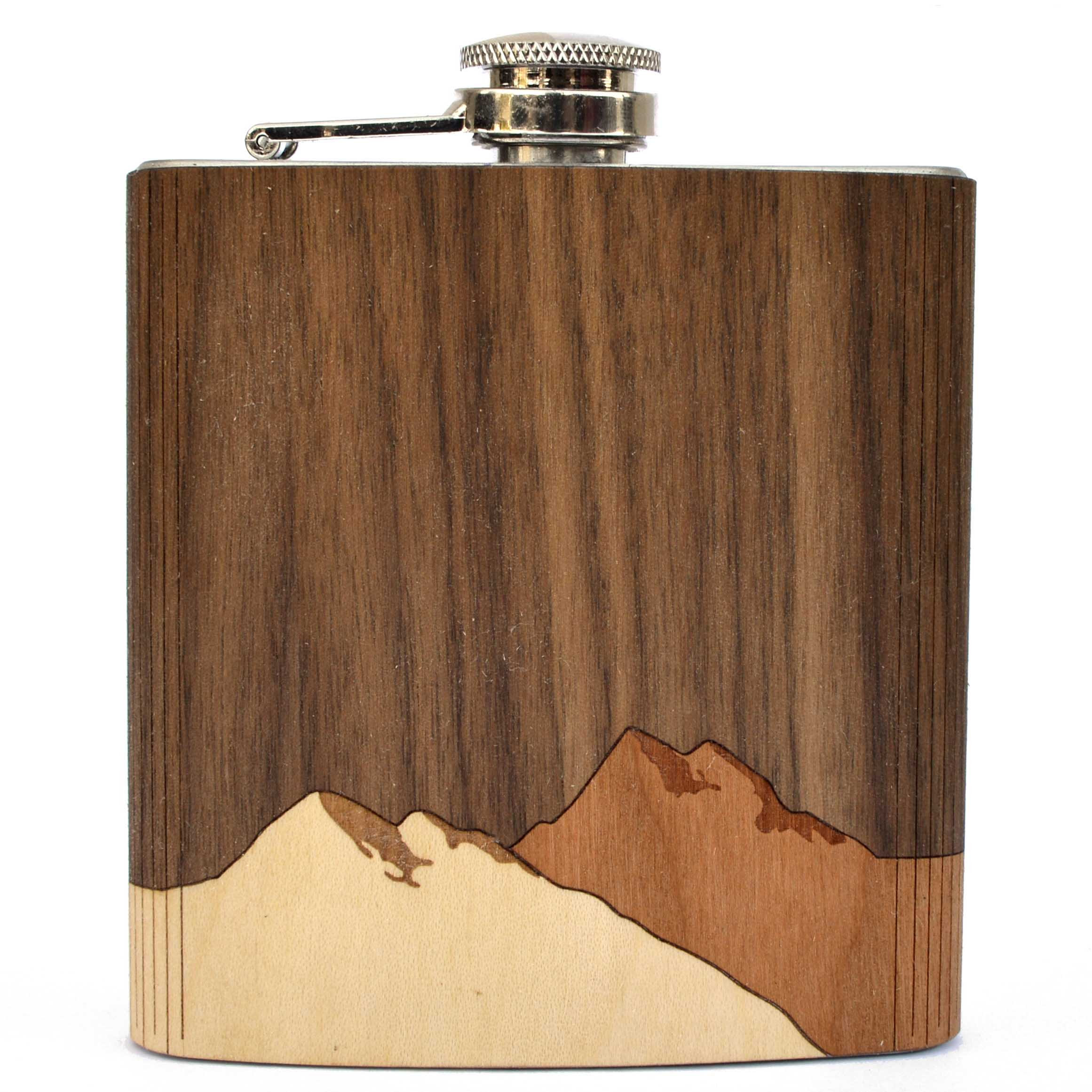 Whiskey Flask - Autumn Woods Co.