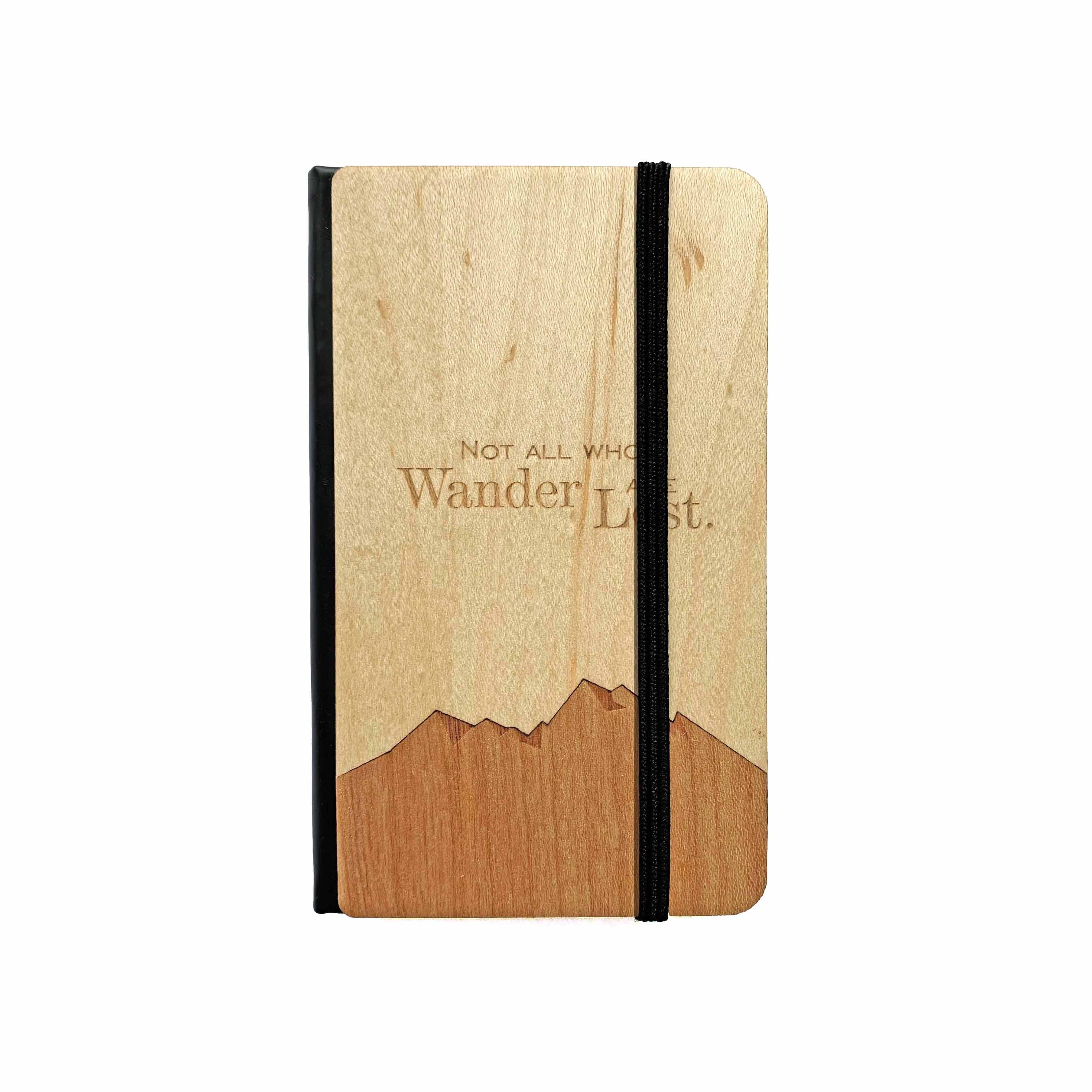 Not All Who Wander Pocket Notebook - Autumn Woods Co.
