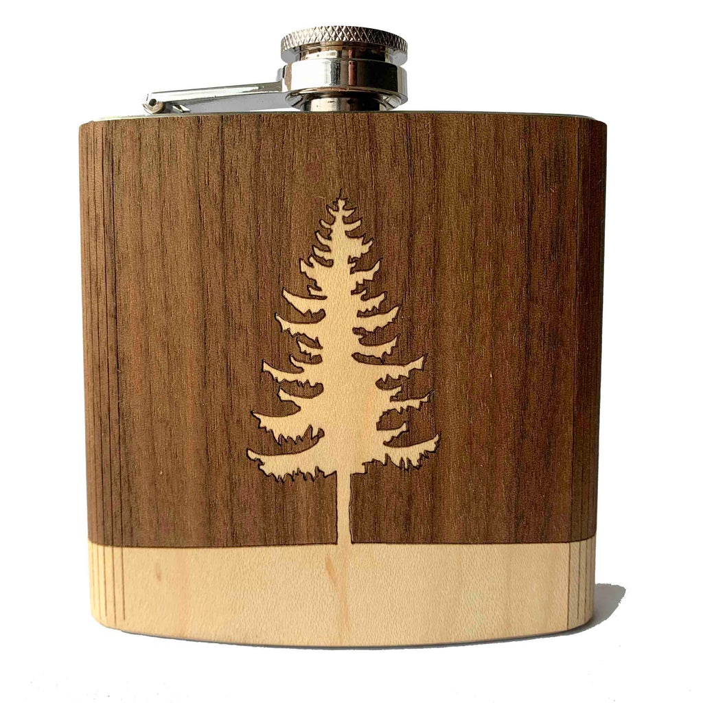 Wooden Flask - Autumn Woods Co.