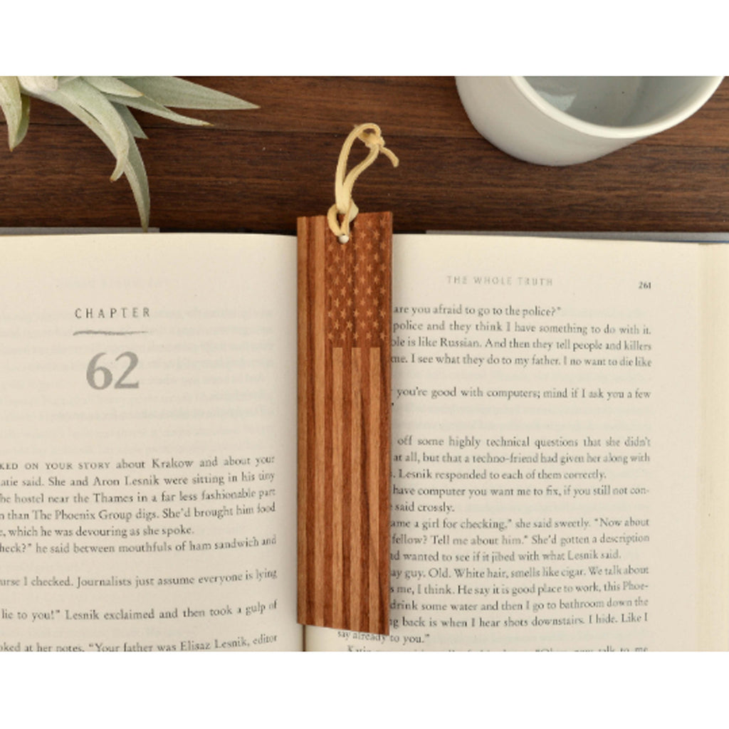 American Flag Bookmark - Autumn Woods Co.