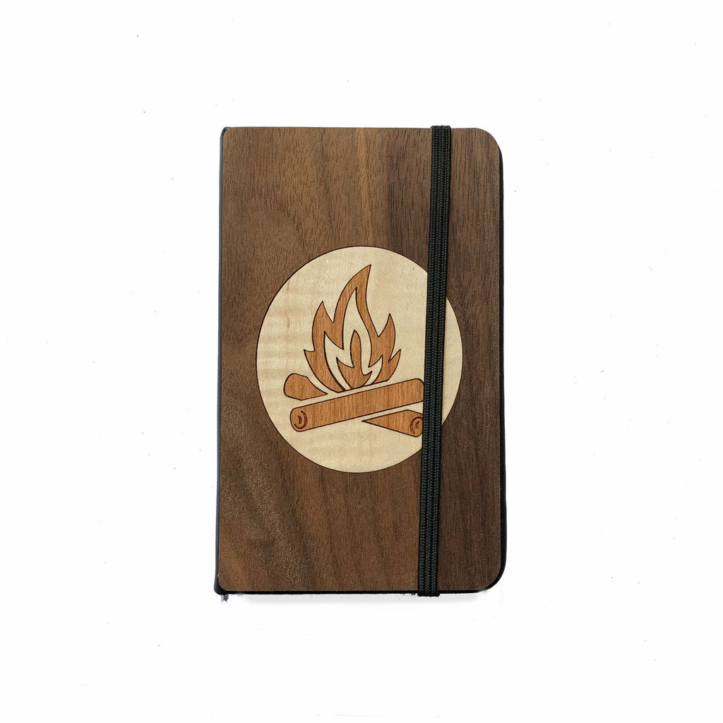 Campfire Pocket Notebook - Autumn Woods Co.