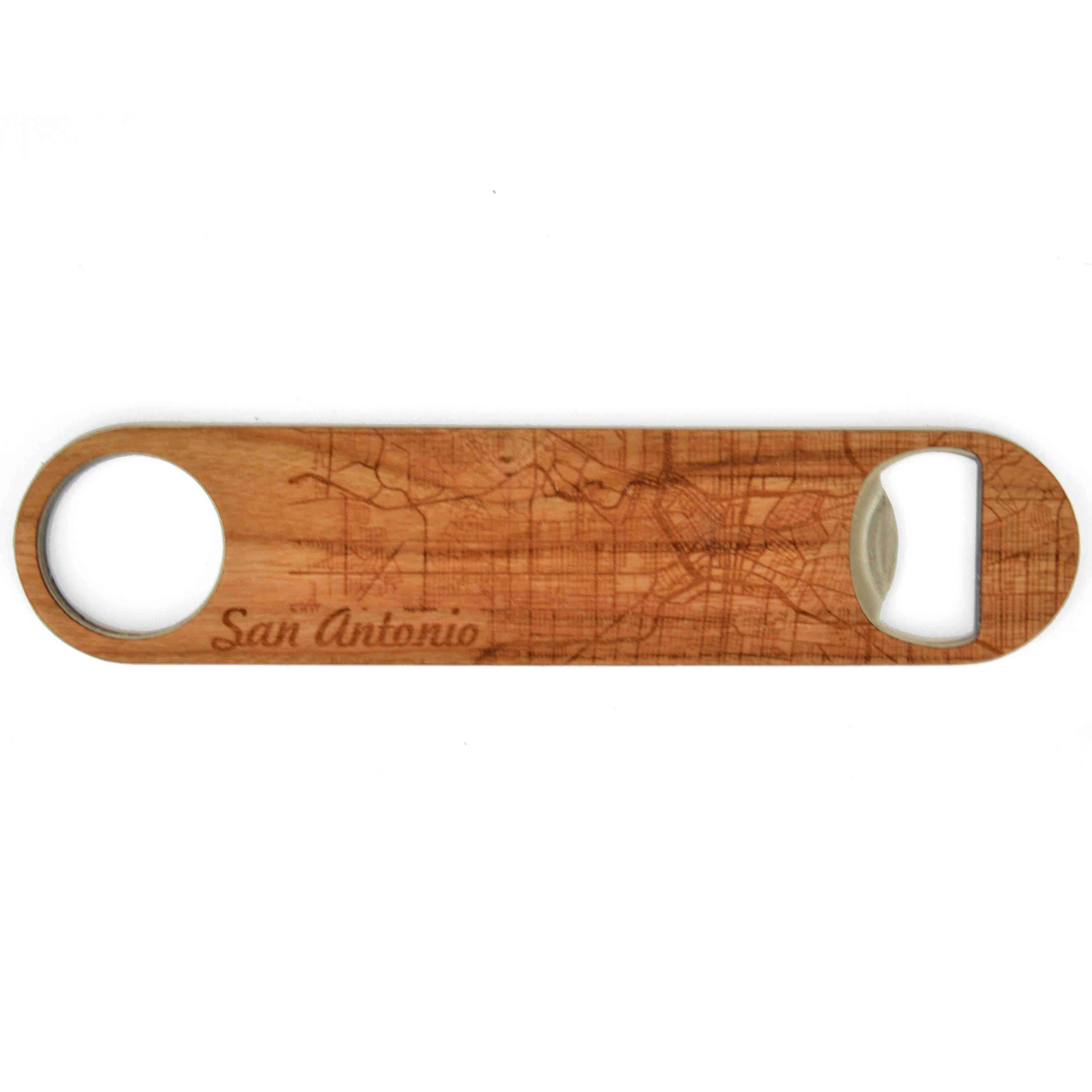 City Map Bottle Opener - Autumn Woods Co.