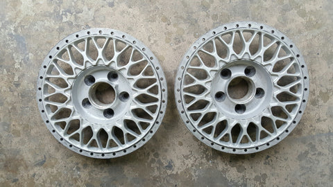 "(2) BBS RS 260 Centers - 17"", Pair"