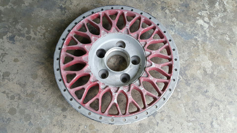 "(1) Used BBS RS 261 Center - 17"", Spare"