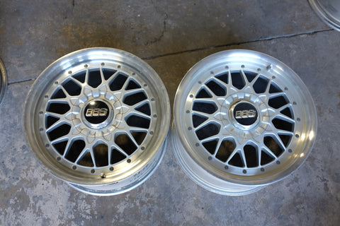"17"" BBS RS-II (pair only, used)"