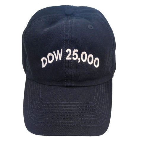 Official Dow 25,000 Hat