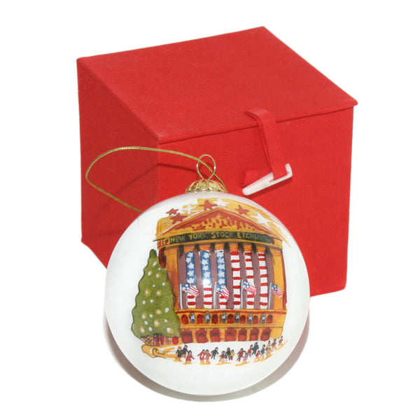 New York Stock Exchange Christmas Ornament