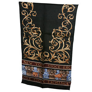Patterned Scarf - Black