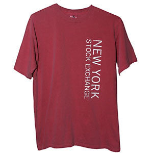 T-Shirt with NYSE Logo - Red