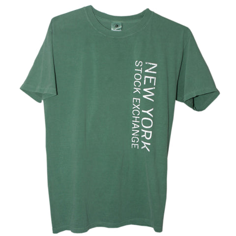T-Shirt with NYSE Logo - Green