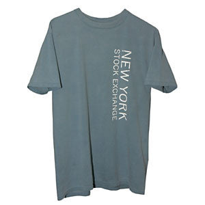T-Shirt with NYSE Logo - Blue