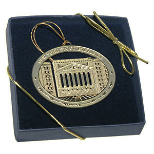 New York Stock Exchange 3 Dimensional Gold Ornament