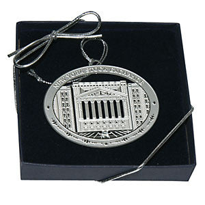 New York Stock Exchange 3 Dimensional Silver Ornament