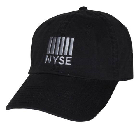 Baseball Cap with NYSE Logo - Black