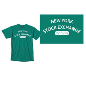Men's Classic T-Shirt with NYSE Logo - Green