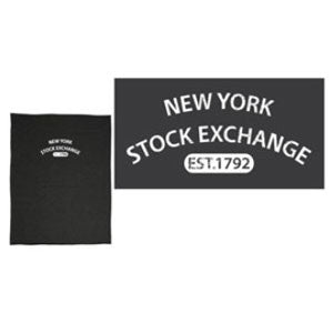 Pro Weave Sweatshirt Blanket with Vintage NYSE Logo