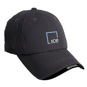 OGIO X-Over Cap with ICE Logo - Black