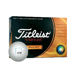 Titleist Pro V1 Golf Balls with ICE logo