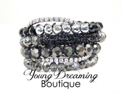 Black Bettie Stack Bracelets!