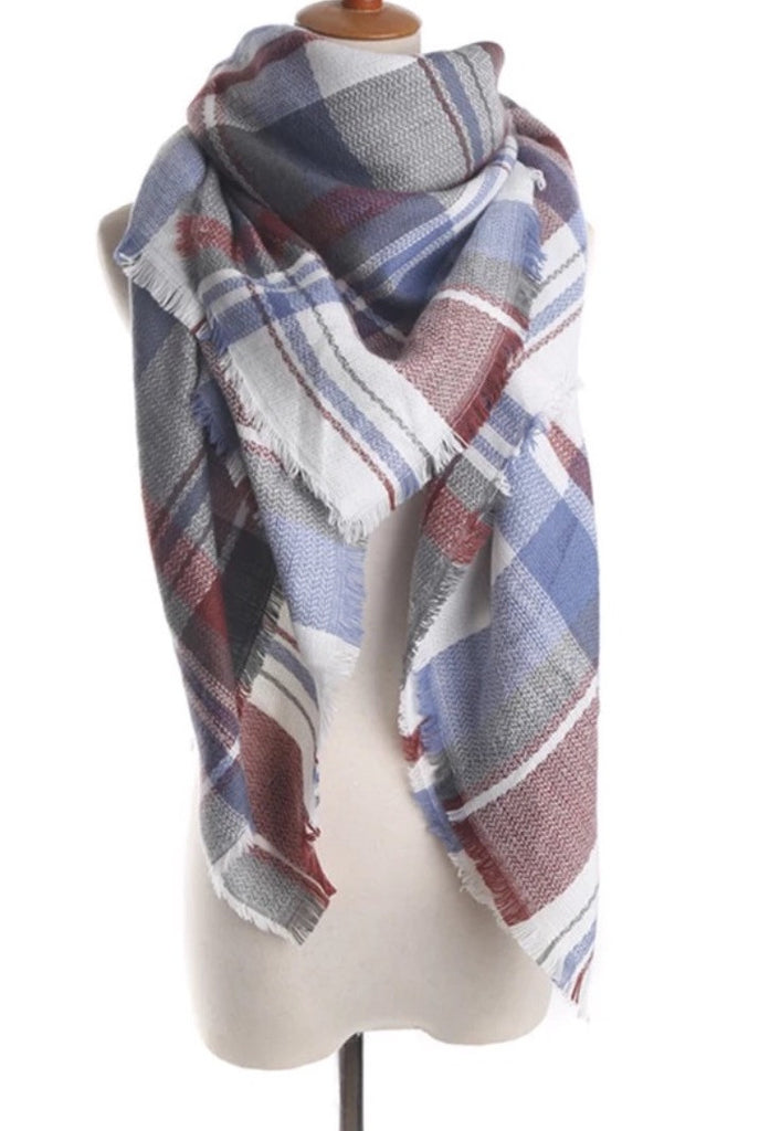 Plaid Blanket Scarves!