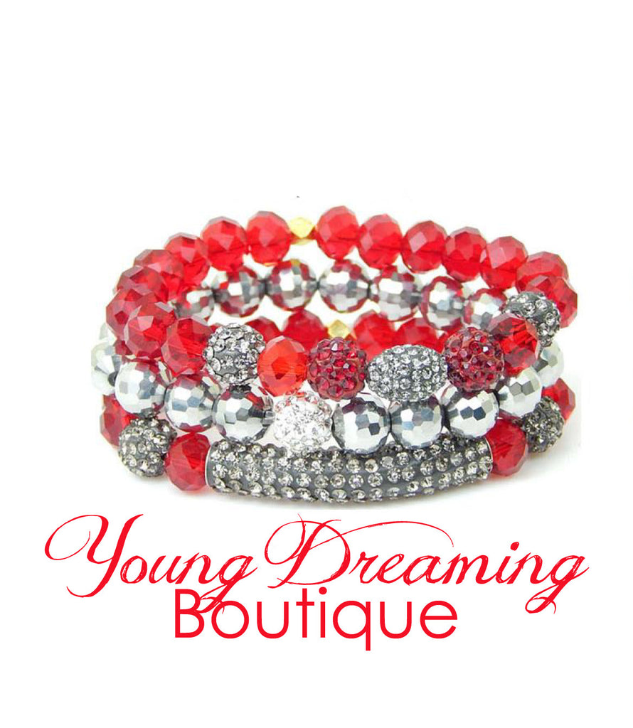 Prancer Holiday Bracelet Stack!