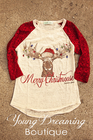 Merry Christmoose Top!