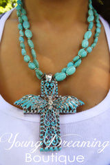 Cross with Wings Necklaces!