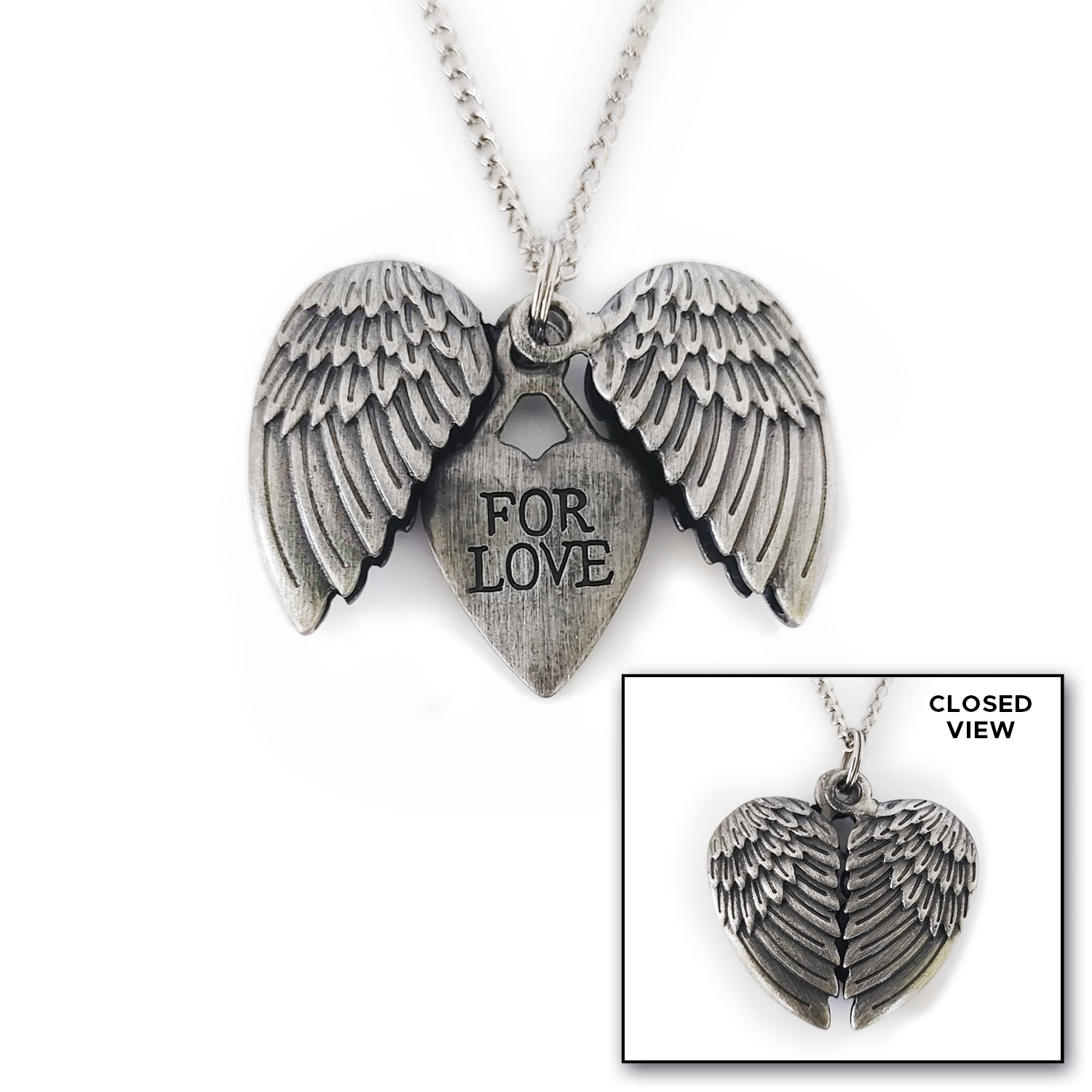"New! Misha Collins' ""For Love"" Necklace"