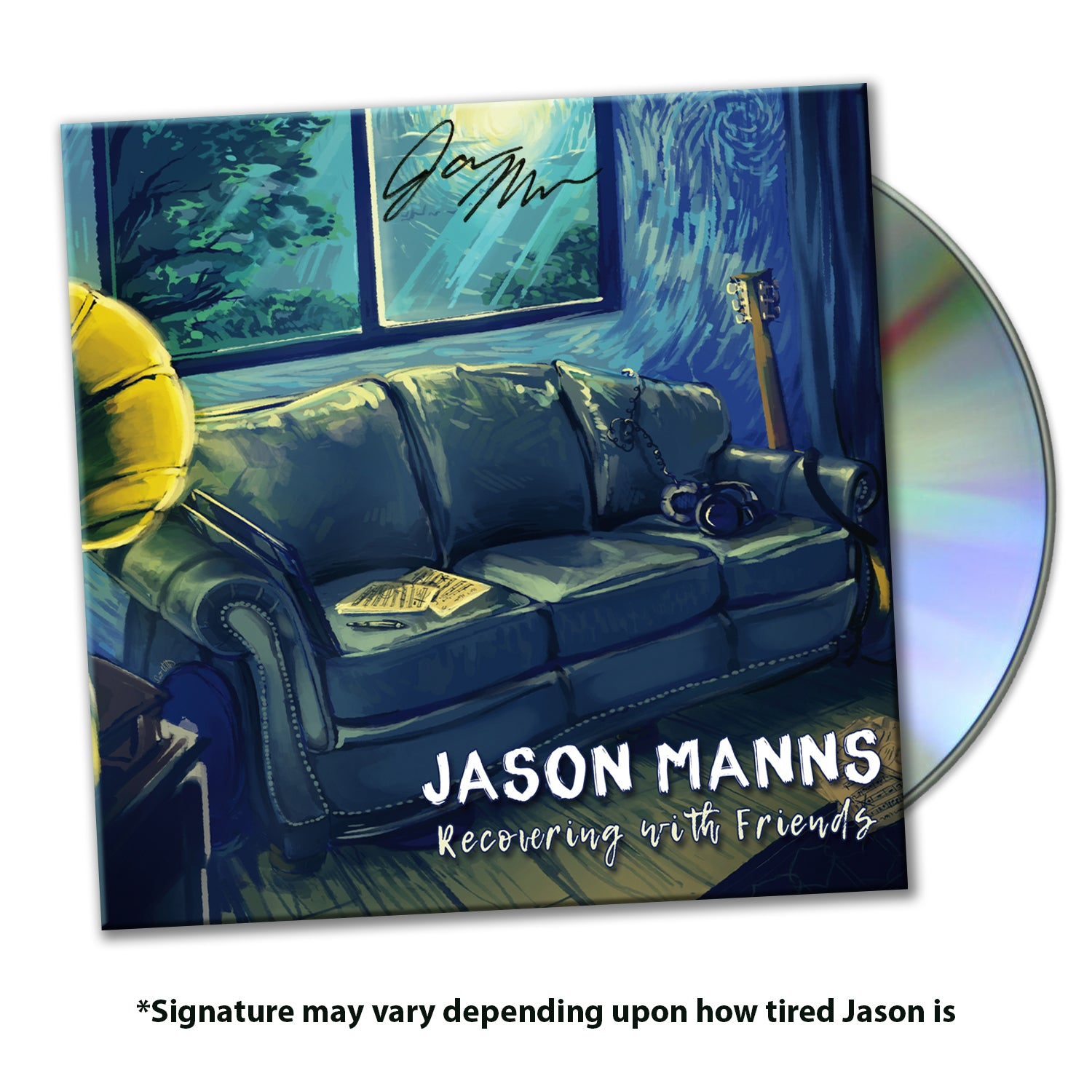 "Jason Manns' ""Recovering with Friends"" Album"