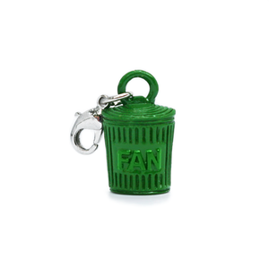 New! Trash Fan Charm
