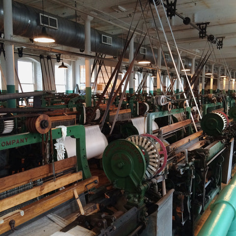 Draper Looms at Boott Cotton Mill