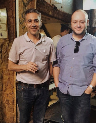 Ihssan Abukhalaf and Hussein Alazaat