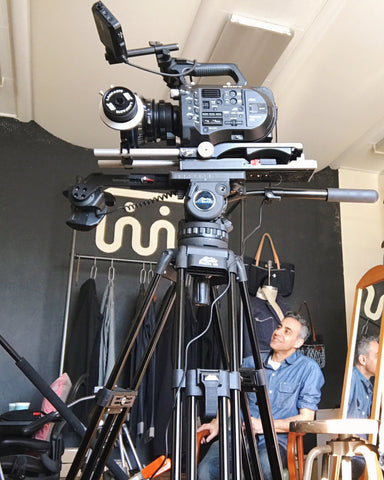 Video Equipment at SHAABI Denim