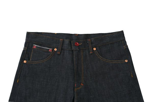 Waist Band on Selvedge Denim Jeans by Shaabi