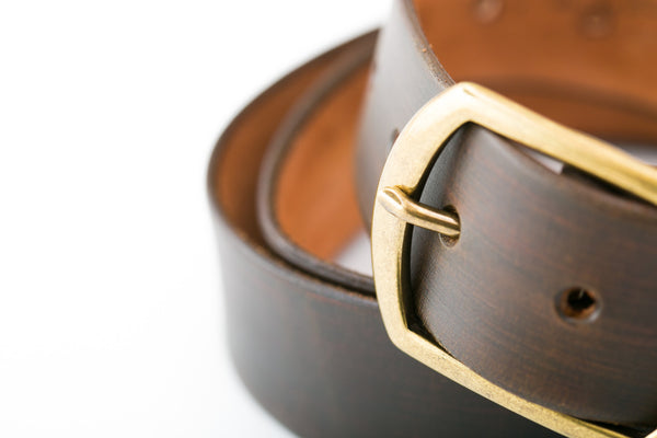 Shaabi leather brown belt
