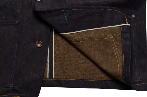 Selvage Denim Engineer Jacket